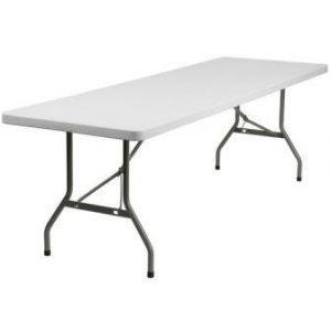 8ft Banquet Folding Tables Plastic