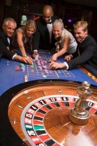 Single Roulette Table