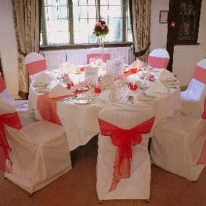 Chair Sashes, Napkins, & Table Runners