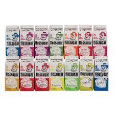 Flossugar Flavors